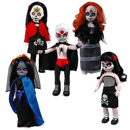 Living Dead Dolls Series 20 Day of the Dead Set