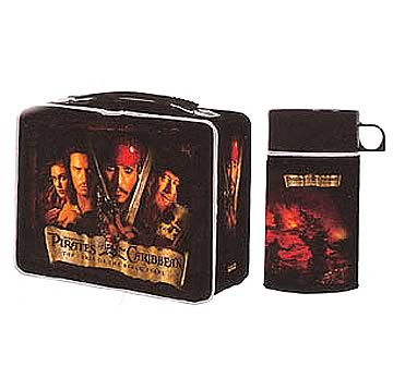 Pirates of the Caribbean Curse of the Black Pearl Lunchbox