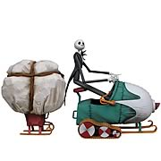 Nightmare Before Christmas Jack Snowmobile Deluxe Box Set