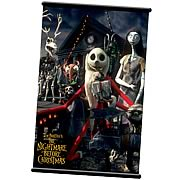 Nightmare Before Christmas Christmas Wall Scroll