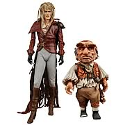 Labyrinth Jareth and Hoggle Action Figures