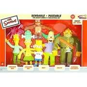 Simpsons Bendables Krusty Show Set