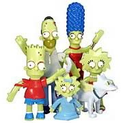 Simpsons Bendables Treehouse of Horror Set 1