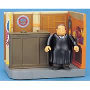 Simpsons Court Room Playset