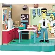 Simpsons Power Plant Lunch Room Playset