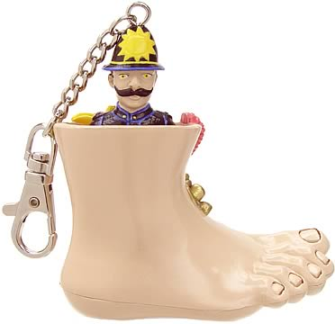 Monty Python Abuse Keychain