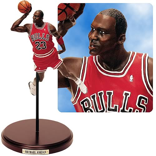 NBA Historical Beginnings Michael Jordan Statue