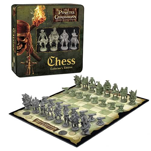 Pirates 2 Collector's Edition Chess in a Tin