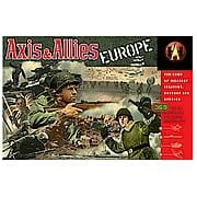 Axis & Allies Europe Game