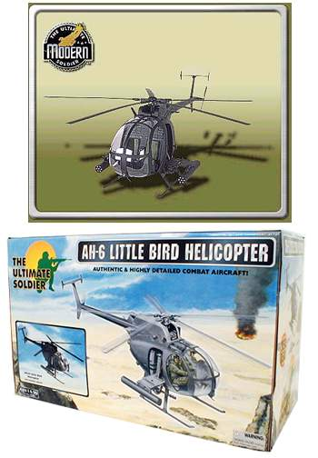 AH-6 Little Bird Helicopter
