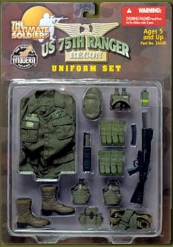 75th Ranger Uniform Set