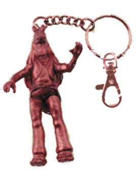 Jar Jar Metal Key Chain