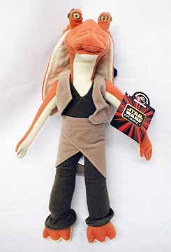 8inch Jar Jar Binks Plush Doll