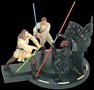 Duel of the Fates Diorama