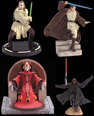 Miniature Figurines 4-Pack