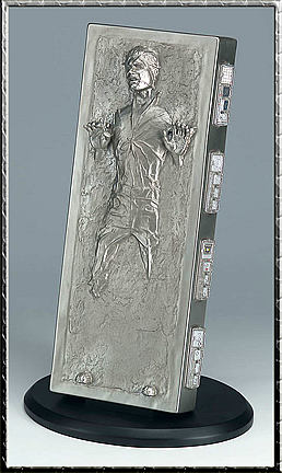 Han Solo in Carbonite Cold Cast Statue