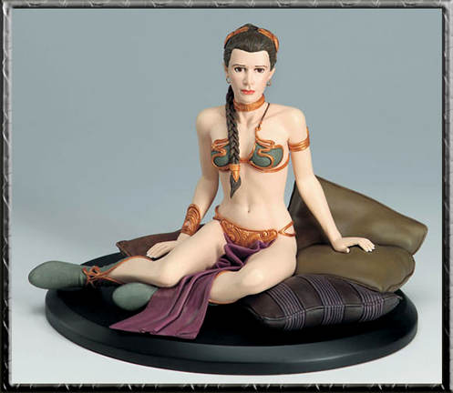 Star Wars Slave Leia Cold Cast Statue