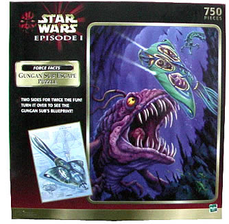 2-Sided Gungan Sub Puzzle