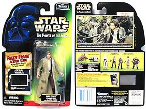 Star Wars Han Solo in Endor Gear Action Figure