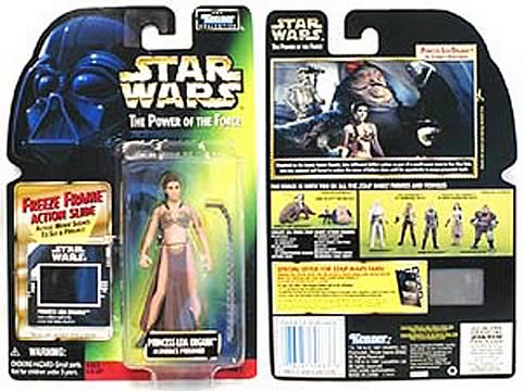 Star Wars Princess Leia as Jabba's Prisoner Action Figure