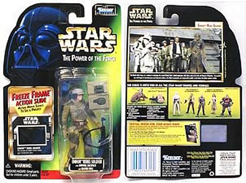 Star Wars Endor Rebel Soldier Action Figure