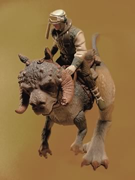 Luke Skywalker and Tauntaun