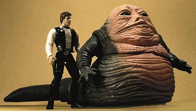 Jabba the Hutt & Han Solo