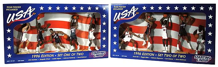 1996 USA Basketball Team Set