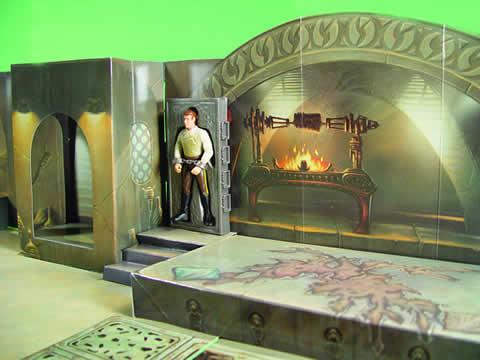 3D Jabba's Palace Diorama