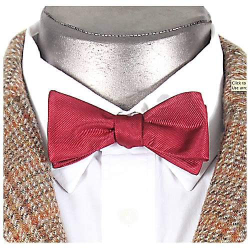 Doctor Who Eleventh Doctors Clip-On Bow Tie