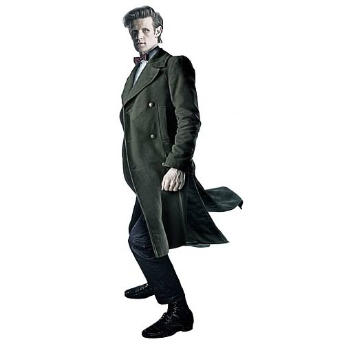Doctor Who Eleventh Doctor Green Coat
