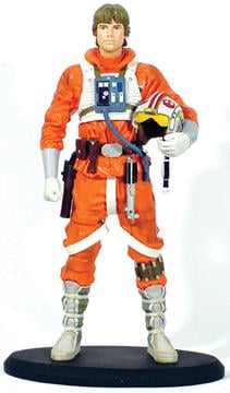 Star Wars Luke Skywalker X-Wing Pilot Cold-Cast Statue