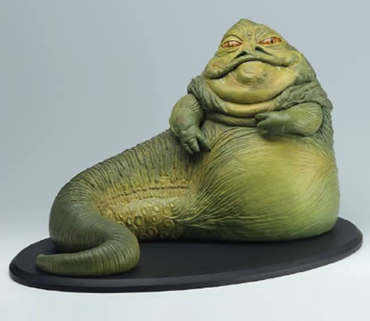 Jabba the Hutt Cold Cast Statue