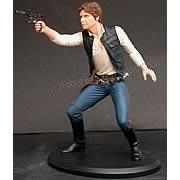 Han Solo Cold Cast Statue
