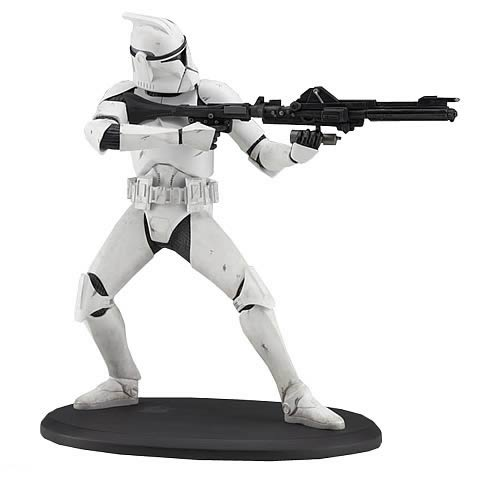 Star Wars Clone Trooper Cold Cast Statue