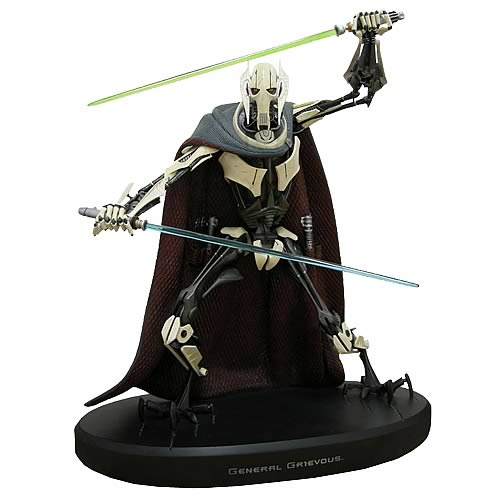 Star Wars General Grievous Cold Cast Statue