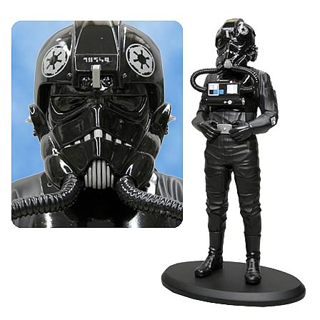 Star Wars TIE Fighter Pilot Cold-Cast Statue