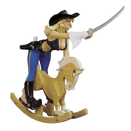 Femmes d`Auteurs Pony Belle Statue