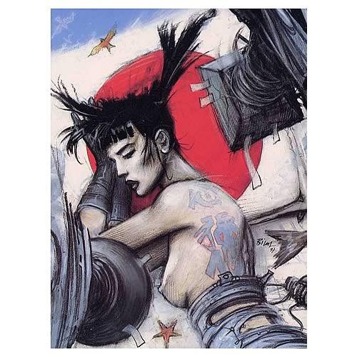 Enki Bilal Tattoo Poster