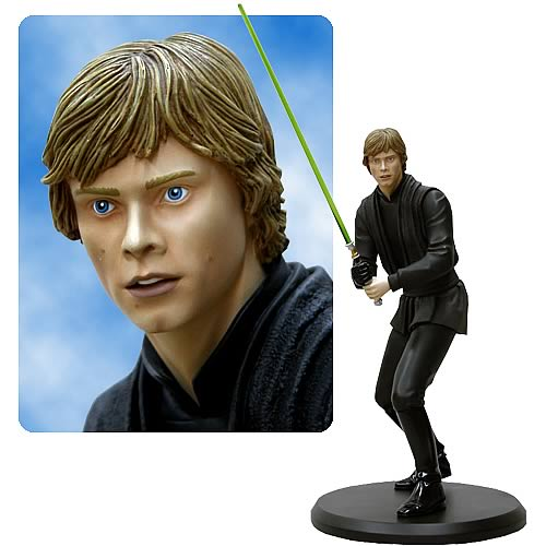 Star Wars Luke Skywalker Jedi Knight Cold-Cast Statue