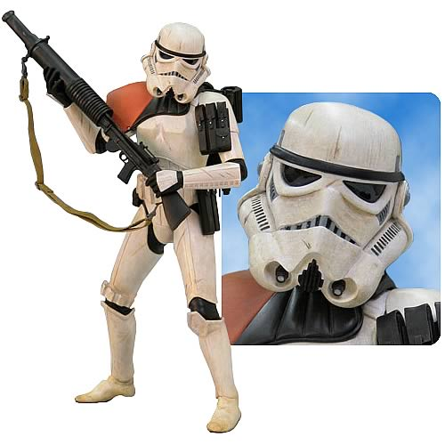 Star Wars Sandtrooper Cold Cast Statue