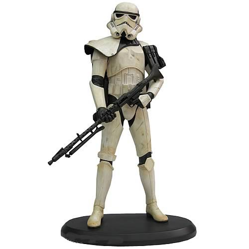 Star Wars Sandtrooper Sergeant Exclusive Statue