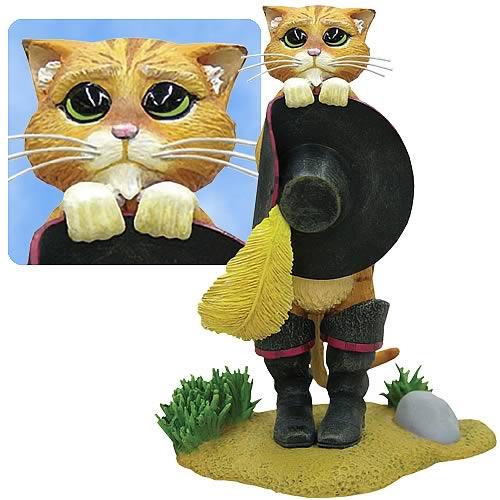 Shrek Puss 'n Boots Statue