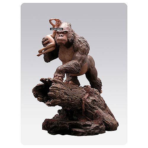 paleozoic peggy pin up model and gorilla statue attakus pin ups statues at entertainment earth. Black Bedroom Furniture Sets. Home Design Ideas