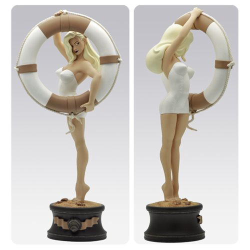 vicki riviera by olivier vatine summer pin up statue attakus pin ups statues at. Black Bedroom Furniture Sets. Home Design Ideas