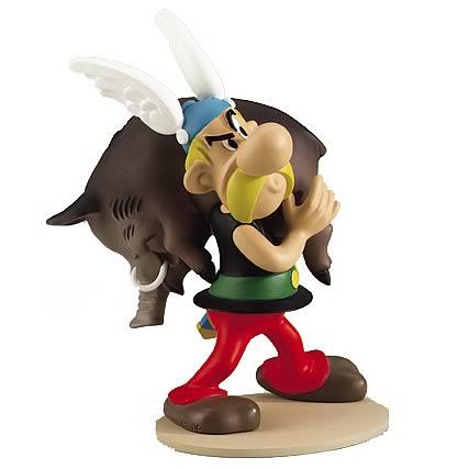 Asterix and Boar Statue