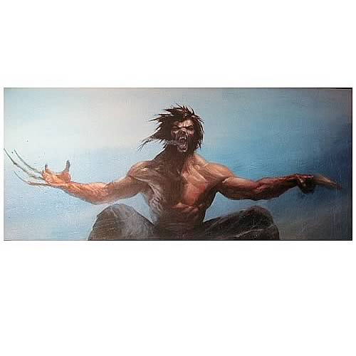 Wolverine Lithograph