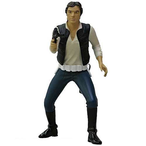 Star Wars Han Solo Metal Statue