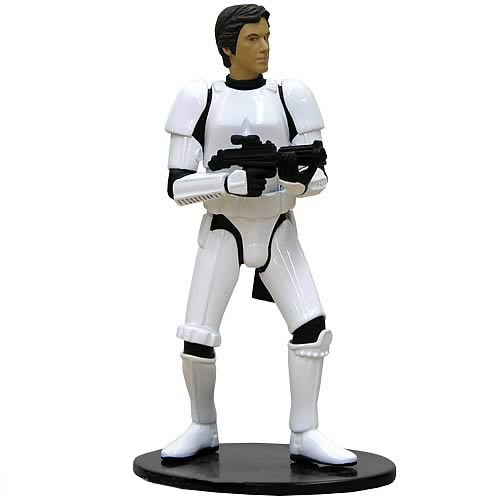 Star Wars Han Solo in Stormtrooper Costume Metal Statue