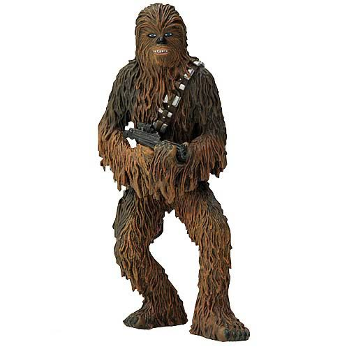 Star Wars Chewbacca Metal Statue